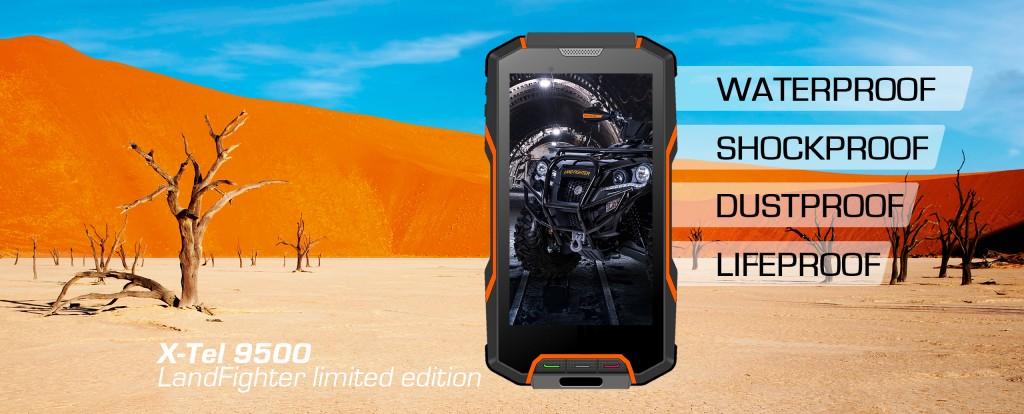 Dustproof Smartphone X-Tel 9500