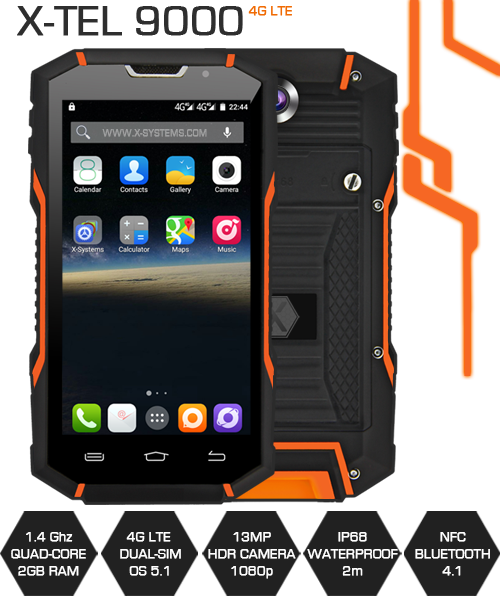 Waterproof Shockproof Smartphone
