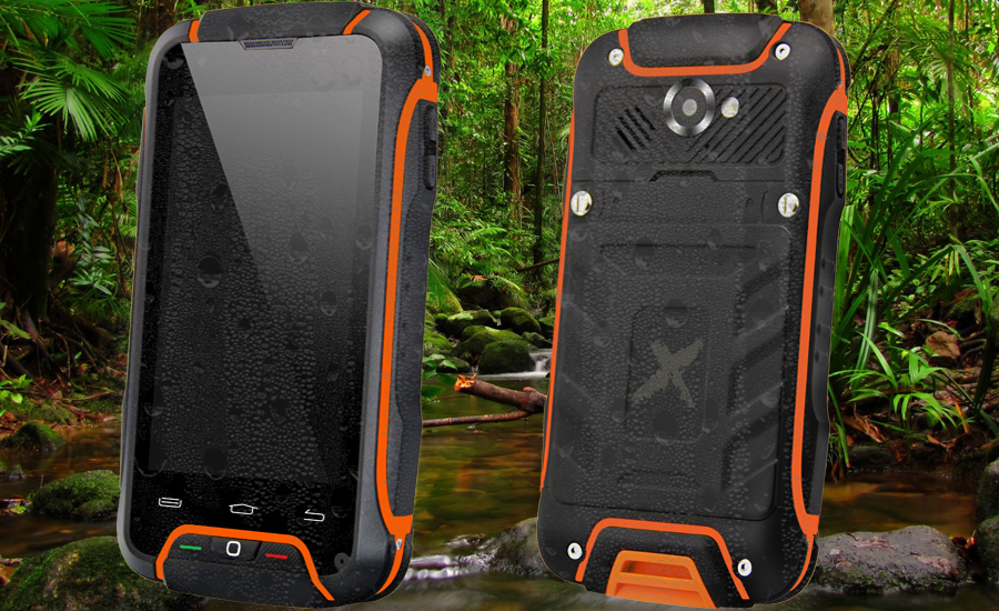 Rugged waterproof Smartphone X-Tel