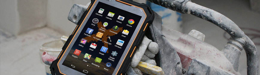 Waterproof Rugged Tablet X-Tab 7500