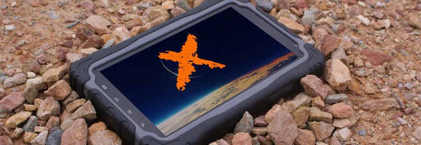 Waterproof Tablet X-Tab 9000