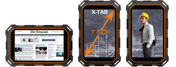 dustproof waterproof tablet x-tab 7500