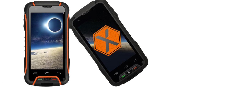 x tel rugged waterproof smartphone